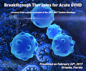 Breakthrough Therapies for Acute GVHD